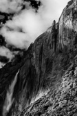 Black and White of Yosemite Falls